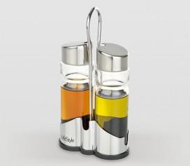 Aceitera vinagrera inox