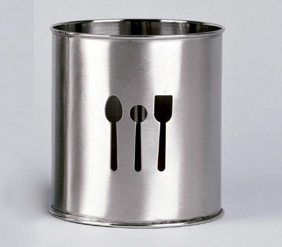 Porta utensilios de cocina inox lifestyle amaia gomez ainz - Utensilios de silicona para cocina ...