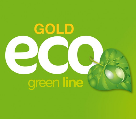 GOLD ECO green line